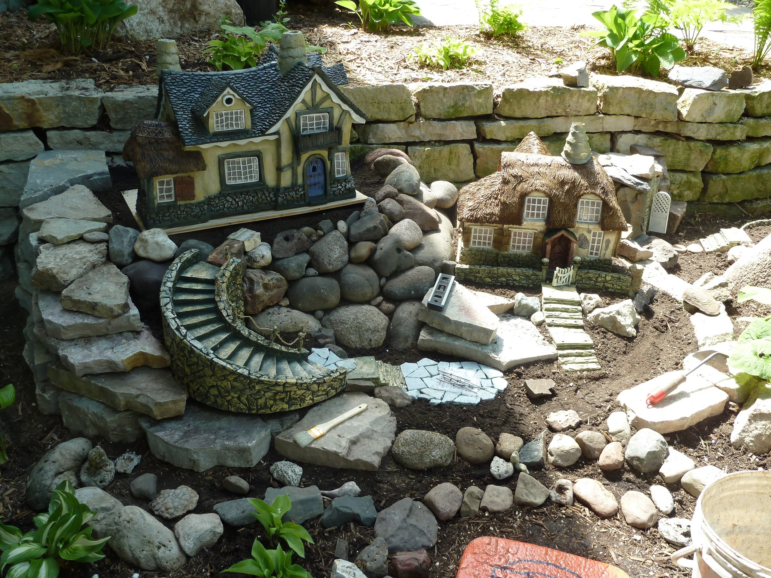 The best fairy houses for the garden for Creating a landscape